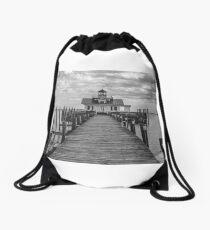 Roanoke Marshes Light Drawstring Bag