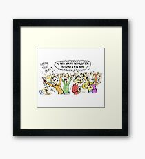 New Year's Resolution Framed Print