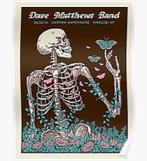 DAVE MATTEWS BAND - LAKEVIEW AMPHITHEATRE - SYRACUSE, NY Poster