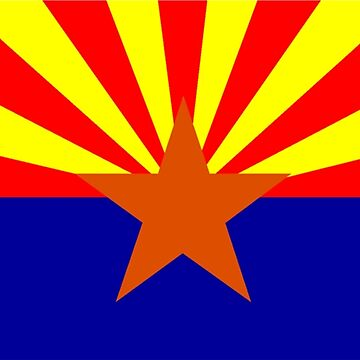 Flag of Arizona by sweetsixty