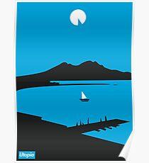 Moon Island - Utopia Poster