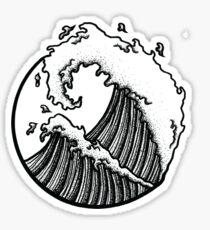 Ocean Circle Sticker