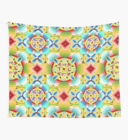 Groovy Cosmic Celtic Wall Tapestry