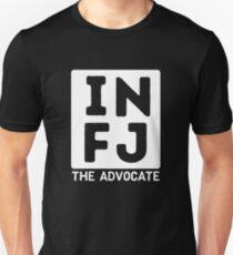 INFJ - White Print T-Shirt