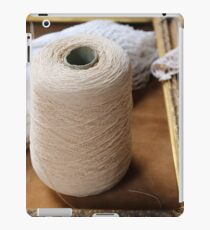 skein of wool and frame iPad Case/Skin