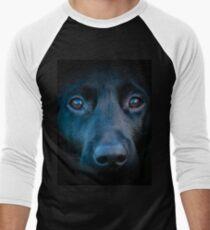 Black Labrador face T-Shirt