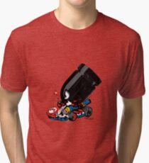 bullet attack Tri-blend T-Shirt