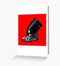 bullet attack Greeting Card