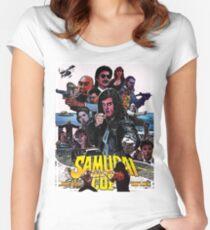 Samurai Cop Women's Fitted Scoop T-Shirt