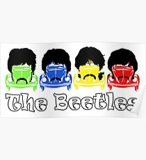 The Beatles/Beetles Poster