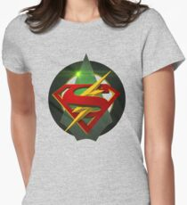 SuperArrowFlash Womens Fitted T-Shirt