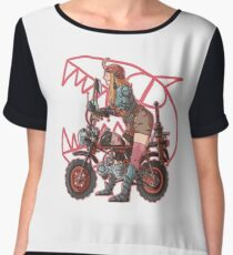 On the road Women's Chiffon Top