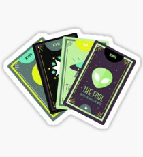 Alien Tarot Sticker