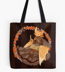 Bookish Bat Tote Bag