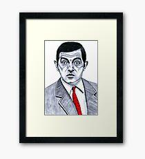 Mister Bean Framed Print