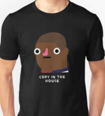 Cory in the house (white text) T-Shirt