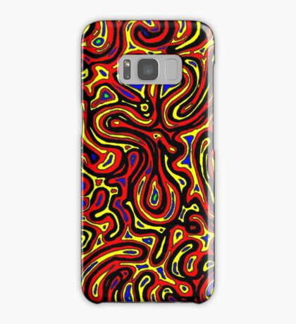 Channel Country - Yellow Samsung Galaxy Case/Skin