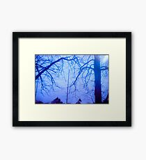 Trees on Film Framed Print