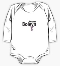 Anne Boleyn 'Team Boleyn' slogan with B necklace One Piece - Long Sleeve