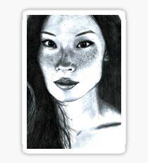 Lucy Liu Sticker