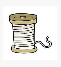 cartoon yarn Photographic Print