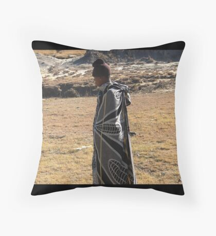 Lesotho dress code Throw Pillow