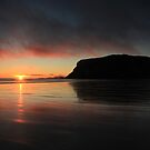 Sunrise at the Nut - Stanley, Tasmania by Ursula Rodgers