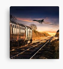 Iconic British Engineering at Its Best Canvas Print