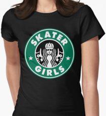 Skater Girls  Womens Fitted T-Shirt