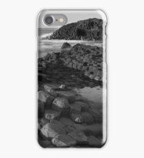 Giants Causeway Black & White iPhone Case/Skin