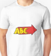 cartoon ABC symbol T-Shirt
