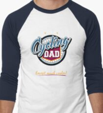 Cycling Dad Men's Baseball ¾ T-Shirt