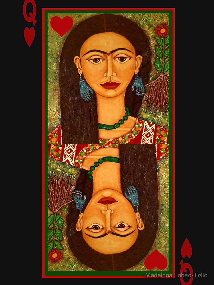 Frida, queen of hearts  by madalenalobaote