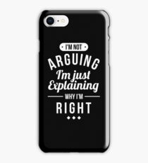 Funny Sarcasm iPhone Case/Skin
