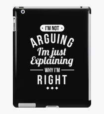 Funny Sarcasm iPad Case/Skin