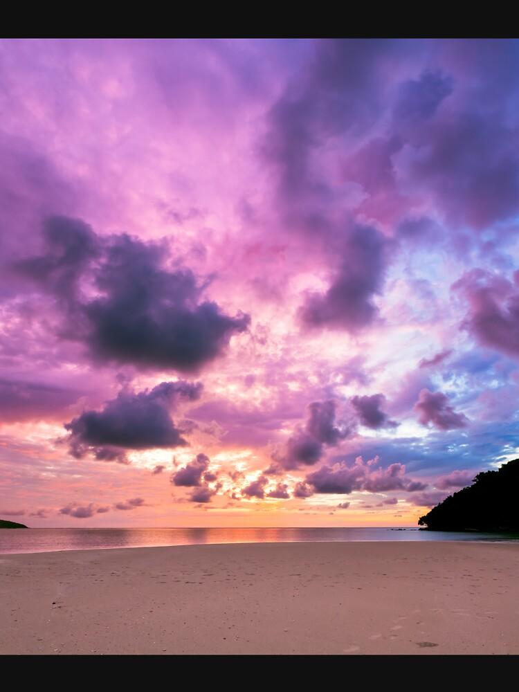 Epic sunset by Juhku