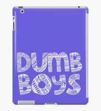 Dumb Boys iPad Case/Skin