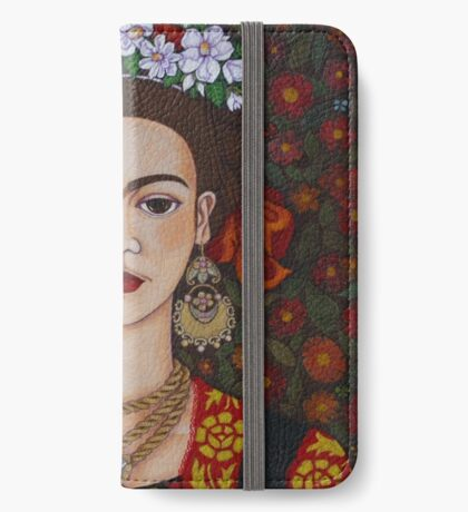 I am Obsessed with Frida T-shirt iPhone Wallet