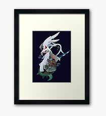 Type: Null and Silvally Framed Print