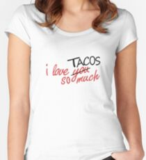 i love you so much [AUSTIN VER.] Women's Fitted Scoop T-Shirt
