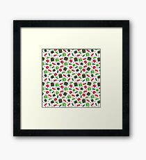 presents, red, green  Framed Print