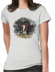 fran bow Womens Fitted T-Shirt