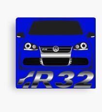 MKV Golf R32 Front Canvas Print
