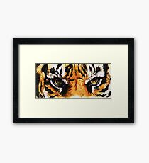 Eye-Catching Sumatran Tiger Framed Print