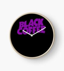 Black Coffee Clock