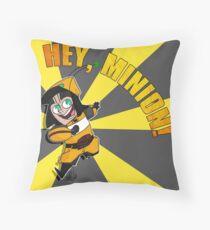 Hey, Minion! Throw Pillow