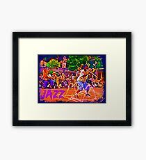 Jazz Band Framed Print