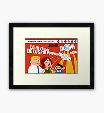 Christmas Invasion Framed Print