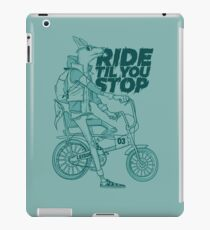 Ride or Don't iPad Case/Skin