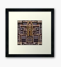 Iron Gothic Framed Print